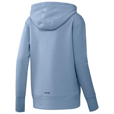 adidas Ladies Go-To Primegreen Cold.Rdy Full-Zip Hoodie Ambient Sky