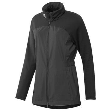 adidas Ladies Parka Hybrid Full-Zip Jacket Black