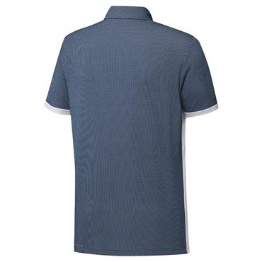 adidas Gents Equipment Two-Tone Mesh Polo Shirt Crew Navy