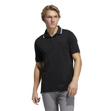 adidas Gents Go-To Primegreen Pique Polo Shirt Crew Navy