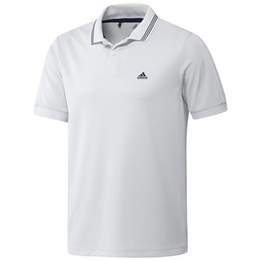 adidas Gents Go-To Primegreen Pique Polo Shirt White