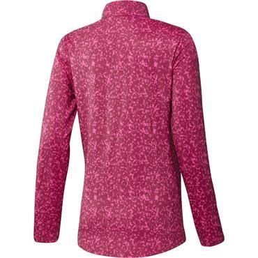 adidas Ladies Primegreen AeroReady Polo Shirt Screaming Pink - Wild Pink