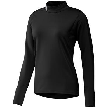 adidas Ladies Sport Performance Primegreen Cold.Rdy Long Sleeve Mock Neck Black