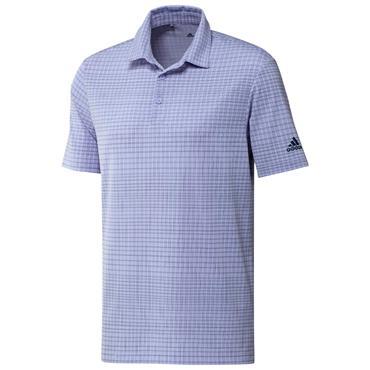 adidas Gents Ultimate365 AllOver Print Primegreen Polo Shirt Violet Tone - Crew Navy