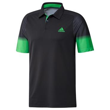 adidas Gents Statement Recycled Content Heat.Rdy Polo Shirt Black