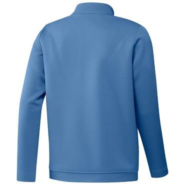 adidas Gents Primegreen DWR ¼ Zip Top Focus Blue