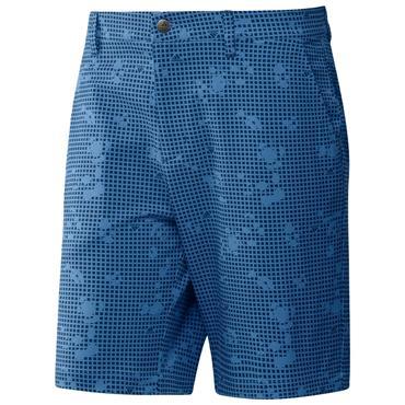 adidas Gents Ultimate365 Primegreen Print Shorts Focus Blue