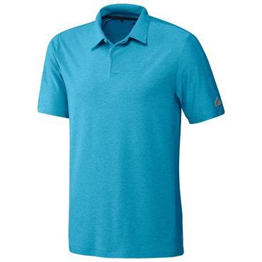 adidas Gents Go-To Polo Shirt Sonic Aqua