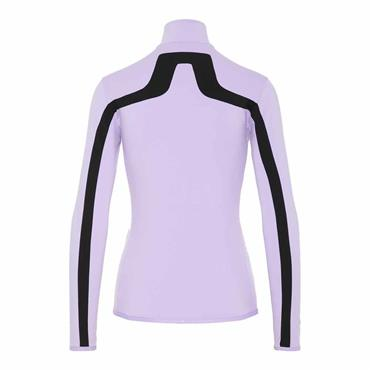 J.Lindeberg Ladies Janice Zip Top Purple