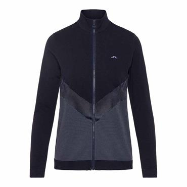 J.Lindeberg Ladies Lulu Zip Top Navy