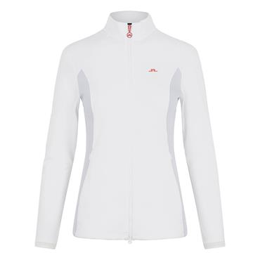 J.Lindeberg Ladies Joy Golf Mid Layer Jacket White