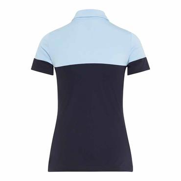 J.Lindeberg Ladies Ditte TX Jersey Polo Shirt Navy