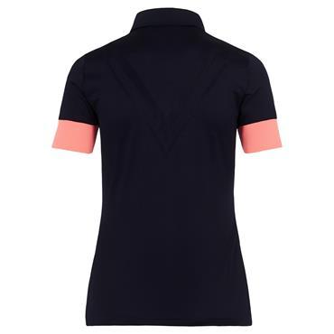 J.Lindeberg Ladies Alice Polo Shirt Navy