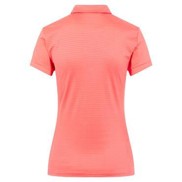 J.Lindeberg Ladies Sue Polo Shirt Tropical Coral