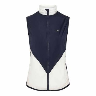 J.Lindeberg Ladies Skye Wind Vest Navy