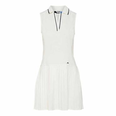J.Lindeberg Ladies Cora Tech Dress White