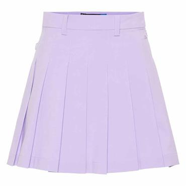 J.Lindeberg Ladies Adina Micro Stretch Skirt Purple