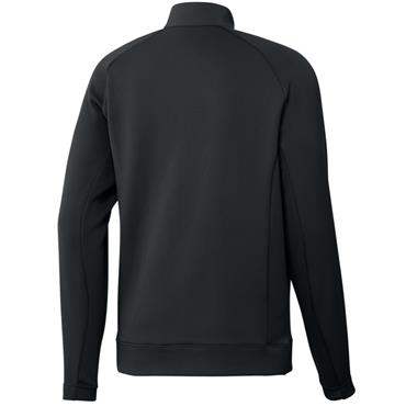 adidas Gents Statement 1/4 Zip Pullover Black
