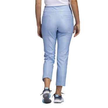 adidas Ladies Ultimate365 Print Primegreen Ankle Pants Ambient Sky - White
