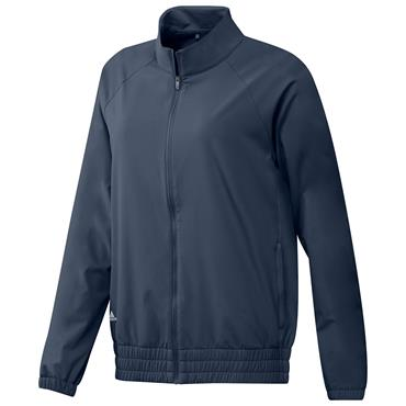 adidas Ladies Essentials Full Zip Jacket Crew Navy