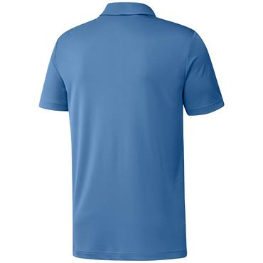 adidas Gents Primegreen Print Polo Shirt Focus Blue