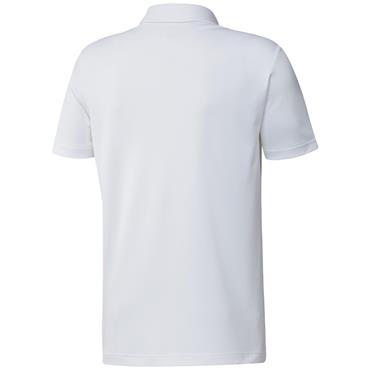 adidas Gents Primegreen Print Polo Shirt White