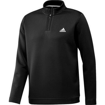 adidas Gents DWR 1/4 Zip Pullover Black