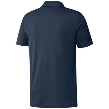 adidas Gents Primegreen Print Polo Shirt Crew Navy
