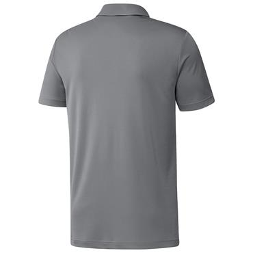 adidas Gents Primegreen Print Polo Shirt Grey Three