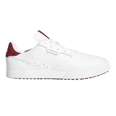 adidas Gents Adicross Retro Shoes Cloud White - Collegiate Burgundy
