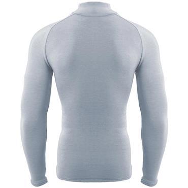 Zero Fit Gents Heatrub Ultimate Mock Grey