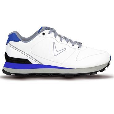 Callaway Junior Chev Golf Shoes White - Blue - Black
