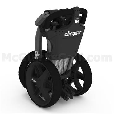 Clicgear 3.5+ Push Trolley Black
