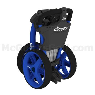 Clicgear 3.5+ Push Trolley Blue