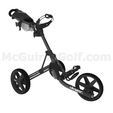Clicgear 3.5+ Push Trolley Charcoal