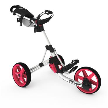 Clicgear 3.5+ Push Trolley Pink