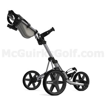 Clicgear 3.5+ Push Trolley Silver