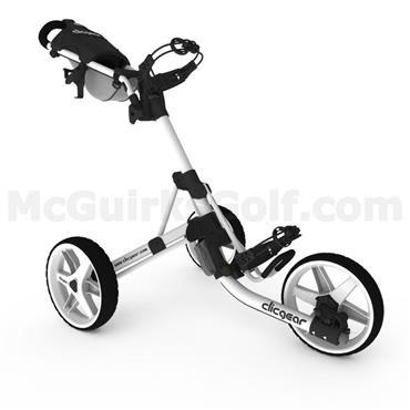 Clicgear 3.5+ Push Trolley White