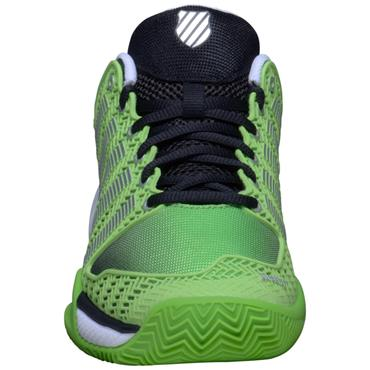 K-Swiss HyperCourt Express Tennis Shoes Green - Black