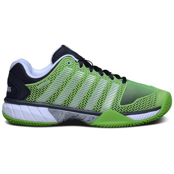 ef2ce0e5749a2 K-Swiss HyperCourt Express Tennis Shoes Green - Black