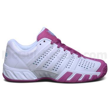 K-Swiss Junior - Girls BigShot Light 2.5 Omni Tennis Shoes White - Berry