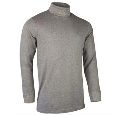 Glenmuir Gents Lewis Roll Neck Light Grey