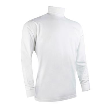 Glenmuir Gents Lewis Roll Neck White