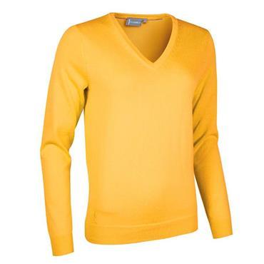 Glenmuir Ladies Darcy Cotton Sweater Sunrise