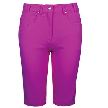 Glenmuir Ladies Lottie Lightweight Stretch Shorts Fuchsia