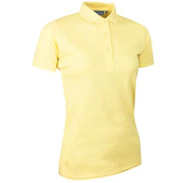 Glenmuir Ladies Sophie Pique Polo Shirt Light Yellow