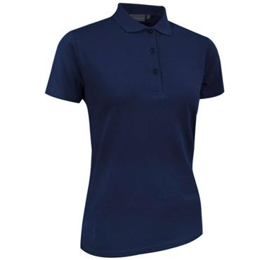 Glenmuir Ladies Sophie Cotton Pique Polo Shirt Navy