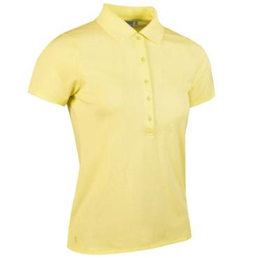 Glenmuir Ladies Paloma Polo Shirt Light Yellow
