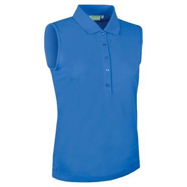 Glenmuir Ladies Jenna Sleeveless Polo Shirt Tahiti