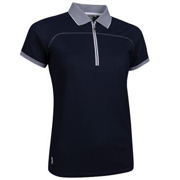 Glenmuir Ladies Nadia Polo Shirt Navy - White
